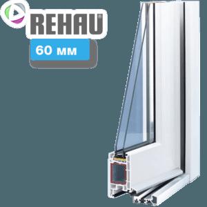 Входные пластиковые двери REHAU 60
