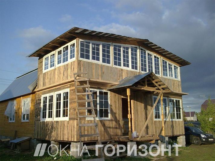 Остекление дачных домов