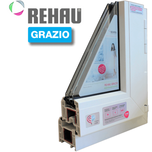 Пластиковые окна REHAU GRAZIO