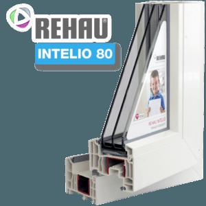 Пластиковые окна REHAU INTELIO 80