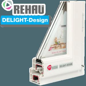 Пластиковые окна REHAU DELIGHT
